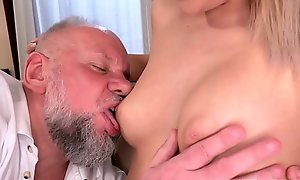 Curvy Teen Shagging Grandpa Cock - Bianca Boodle together with Albert