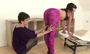Adult lezdom punishes slut