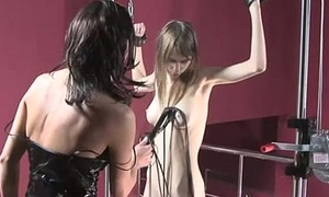 Cute Beata gets kidnapped by lesbian