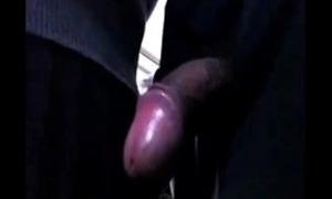 Beggar groping school girl