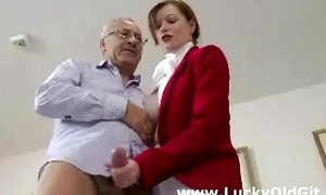 Cute naughty horserider fucks doyenne british guy