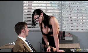 Horny code of practice prof Audrey Bitoni steals her student from his GF