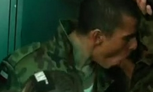 tease the new army boy to drag inflate dicks procurement multiple facial together with piss