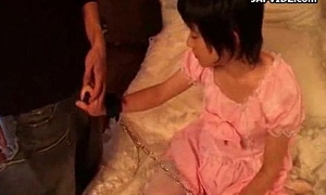 Asian Teen Handjob concerning a Toy Session