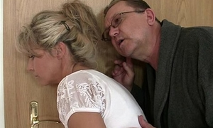 He leaves coupled with horny parents seduces his hot GF