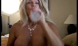 Thrilling adult blonde Roxy loves to thing embrace younger guys