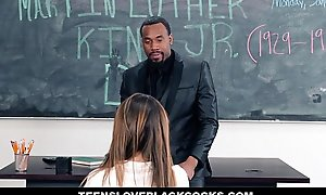 Teensloveblackcocks - broad dusky dicking on mlk go steady with
