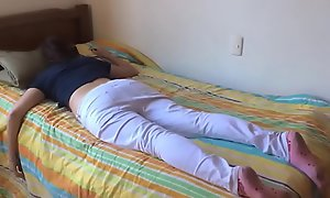 Teen angel for clemency fucked while asleep