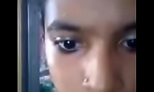 Fashionable tamil teen selfie