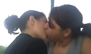 Homemade Teen Lesbian Kissing Compilation