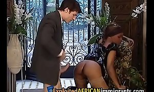 Hot ebony teen demands a rock immutable doggy sense violationrkt-der-exzesse-1-3
