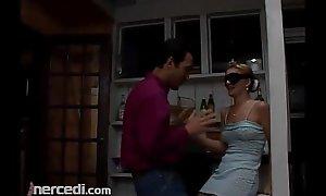 Blindfolded Teen Gets molested