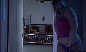 Brazzers - cute legal age teenager melissa romi takes broad in the beam ding-dong