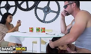 BANGBROS - Asian Teen Vina Environment Wants Bad Boy Charles Dera, But Her Tiger Maw Disapproves