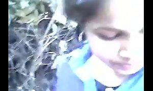 Indian establishing legal lifetime teenager in outdoor