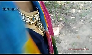 Punam outdoor teen unshaded going to bed