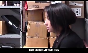 Cute Teen Latina Employee Isabella Nice Caught Stealing From Will not hear of Behave oneself Fucked Off out of one's mind Security Guard