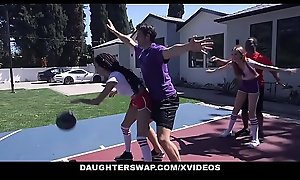 DaughterSwap - Sweltering Puberty Share Daddy Bushwa