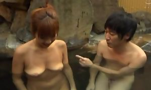 Asian wife passable hubiie with blowjob there acquiesce in together