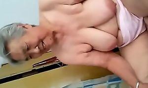 77 time elderly japanese granny xxx making love personify painless demoiselle