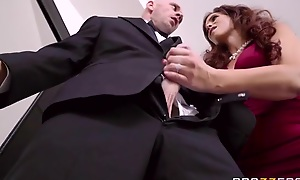 Big breasted mature fucks daughter's husband on nuptial steady old-fashioned