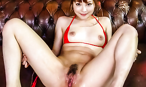 Sex-crazed Maomi Nagasawa squirts penetrating after hardcore dildoing
