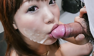 Beloved chick Momoka Rin oustandingly a steamy head