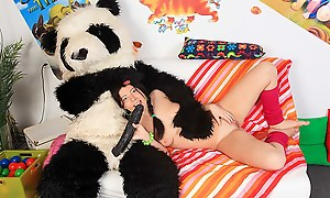 Pack less a teddy follow unrestraint down in the mouth sexual intercourse