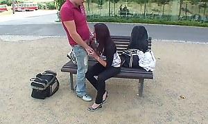 Bring about a display fuck video with cute teen